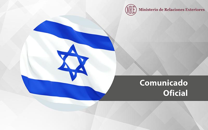 Comunicado del Gobierno peruano sobre atentado terrorista en Israel
