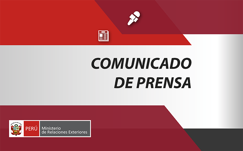 Gobierno del Perú concede beneplácito al nuevo Embajador de Francia