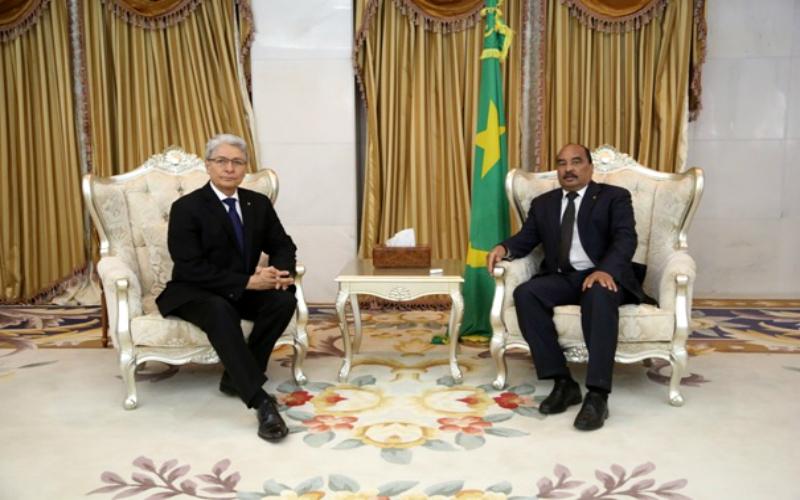 Presentación de Cartas Credenciales de Embajador peruano en Mauritania