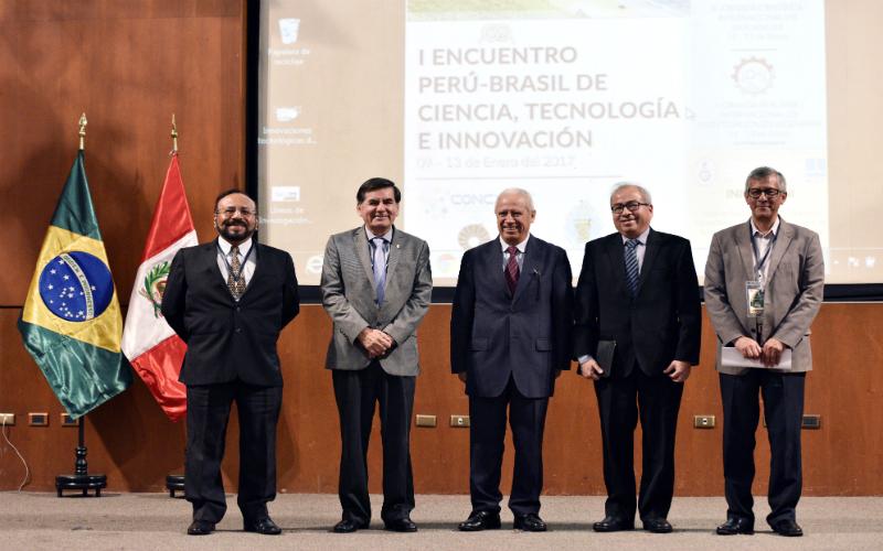 Inauguran primer encuentro de ciencia, tecnología e innovación entre el Perú y Brasil
