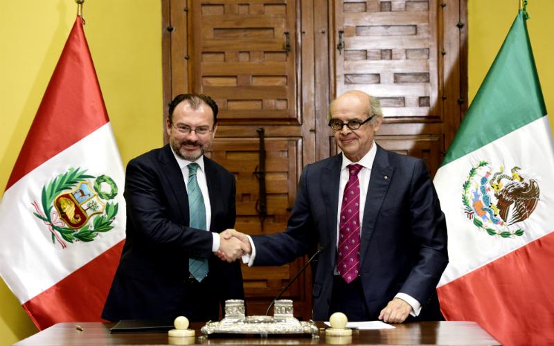 Perú y México celebran II Reunión del Consejo de Asociación Estratégica