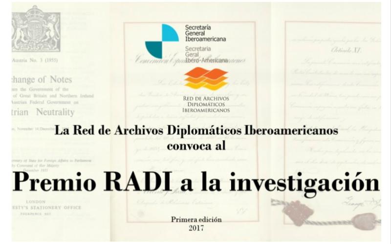 La Red de Archivos Diplomáticos Iberoamericanos premia la investigación