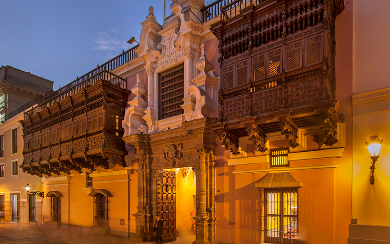 Visita virtual 360 grados del Palacio de Torre Tagle