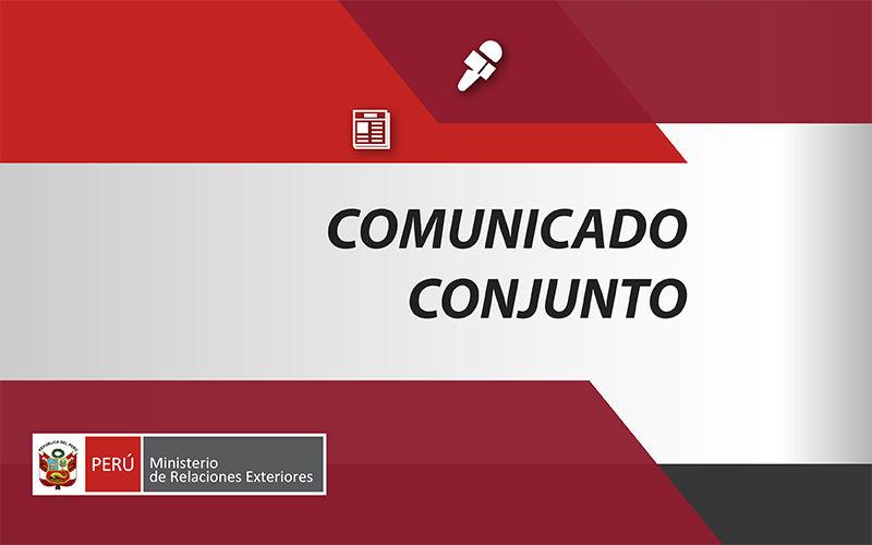 COMUNICADO CONJUNTO SOBRE LA SITUACIÓN EN NICARAGUA