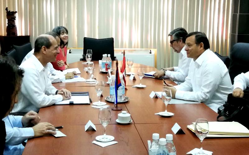 Perú y Cuba celebran la III Reunión del Mecanismo de Consultas Políticas