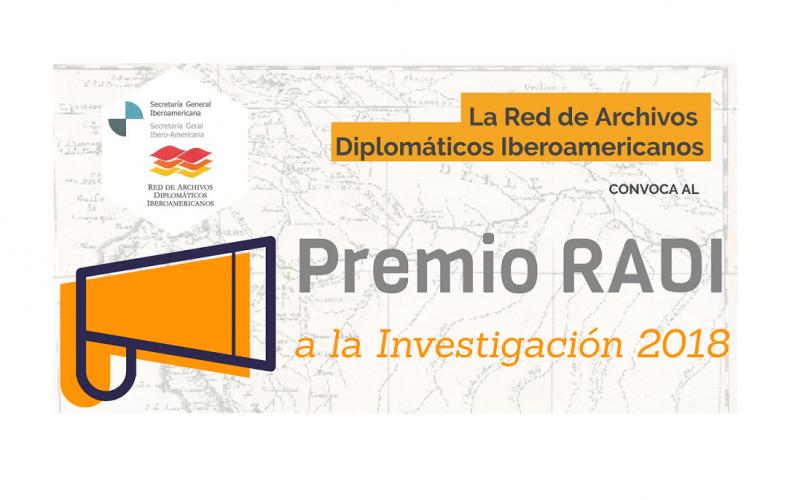 """Lanzan convocatoria al """"Premio RADI a la Investigación 2018"""""""