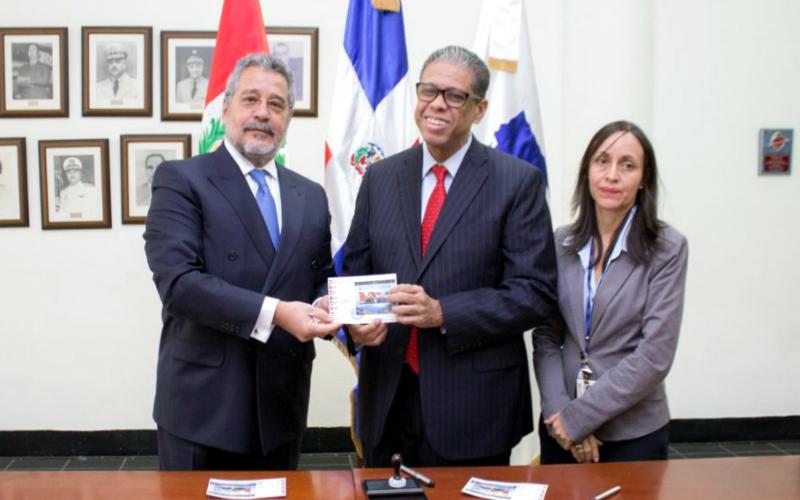 Perú y República Dominicana ponen en circulación sello postal conjunto