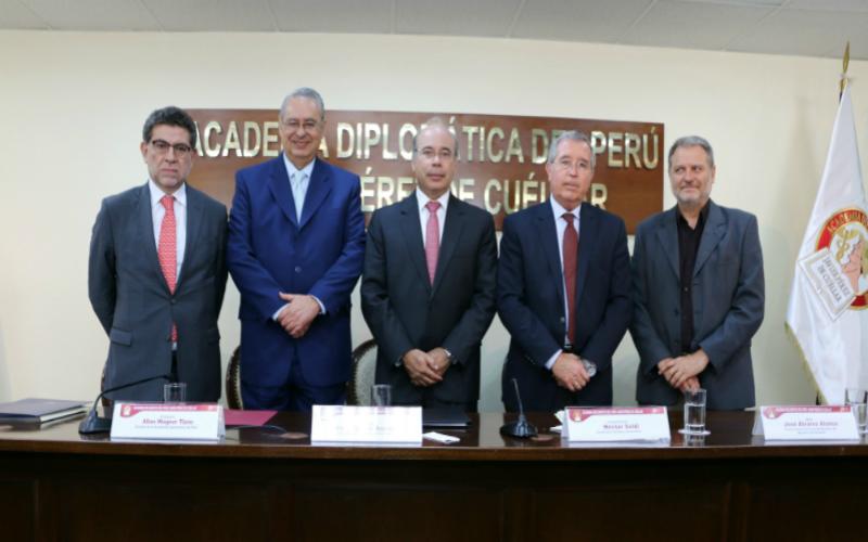 Cancillería conmemora tercer aniversario del fallo de la Corte de La Haya sobre la delimitación marítima entre el Perú y Chile