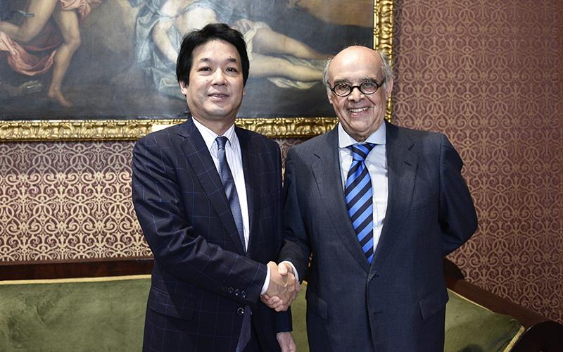 Viceministro de Asuntos Exteriores de Japón visita el Perú
