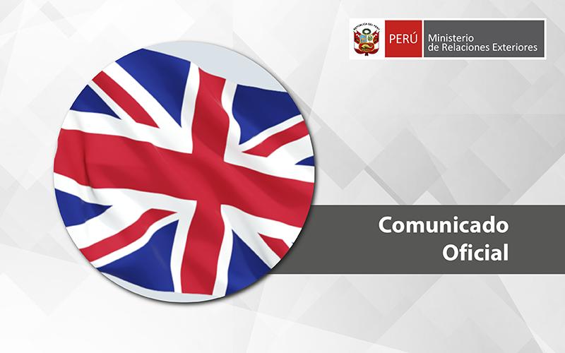 Perú condena atentado terrorista en parlamento británico