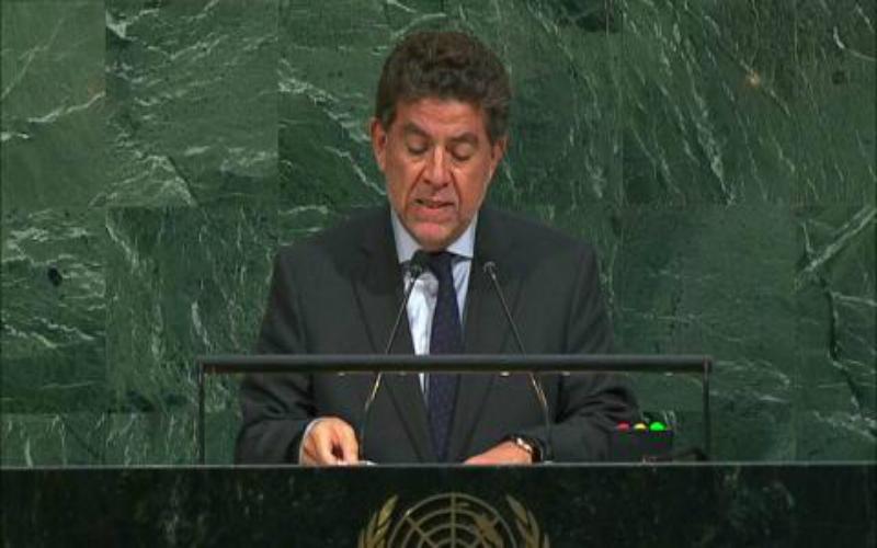 Intervención del Embajador Gustavo Meza-Cuadra, Representante Permanente de la República del Perú, en el debate general del 72° periodo de sesiones de la Asamblea General de las Naciones Unidas