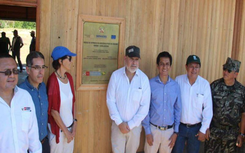 Inauguran infraestructura productiva en zona de frontera con Colombia