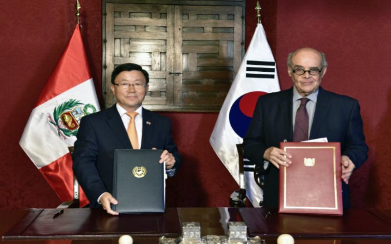 Perú y Corea suscriben Convenio sobre Seguridad Social