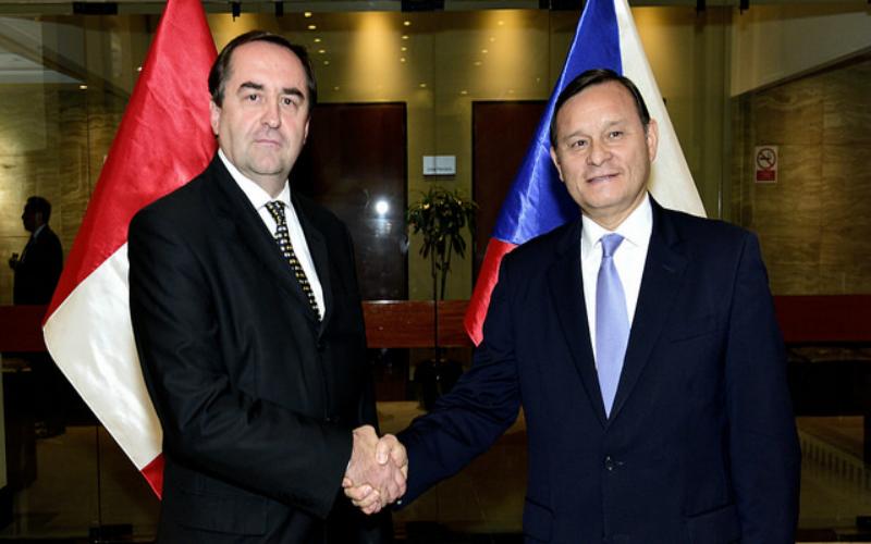 Conmemoración de los 95 años de las relaciones diplomáticas entre el Perú y la República Checa