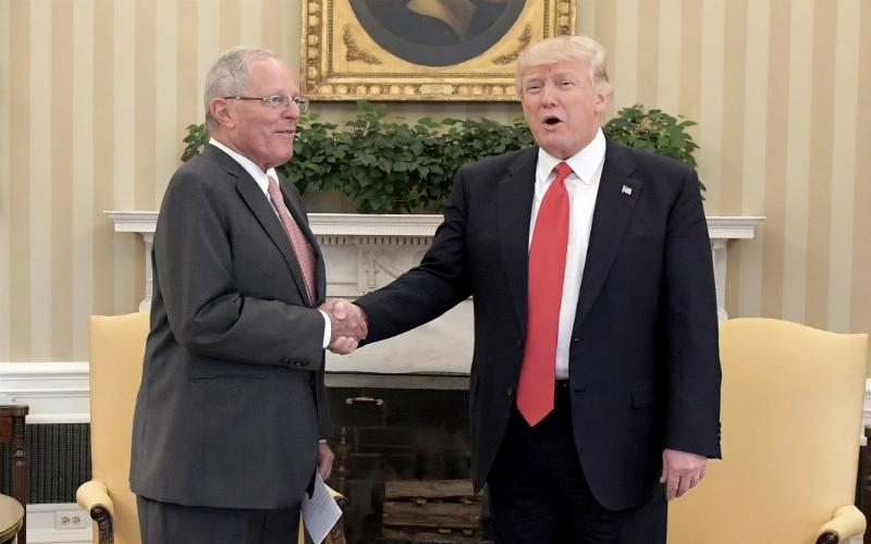 Mandatario peruano se reunió con su par de Estados Unidos de América