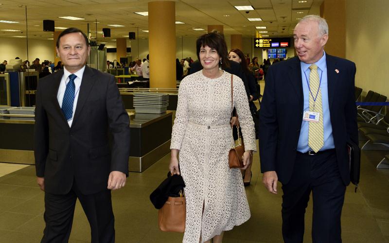 Presidenta de la Confederación Suiza inició Visita Oficial al Perú